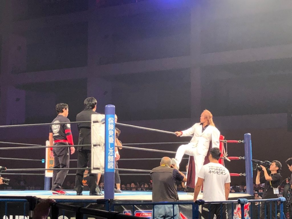 内藤哲也vs鈴木みのる