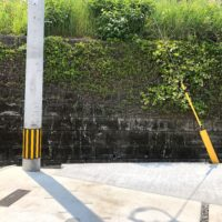 電柱と支線