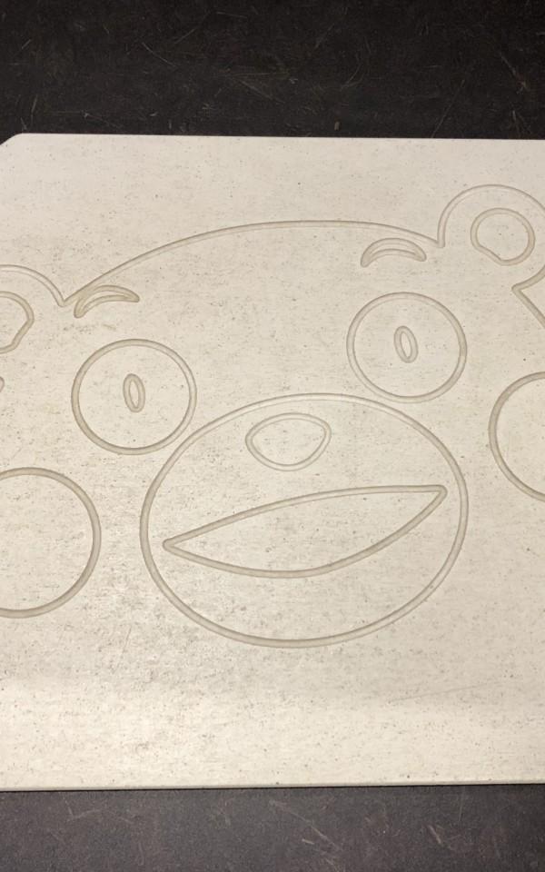 くまモンの珪藻土マット